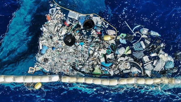 Ô nhiễm rác thải nhựa trên biển đang ngày càng trở nên nghiêm trọng. (Ảnh: Wired)