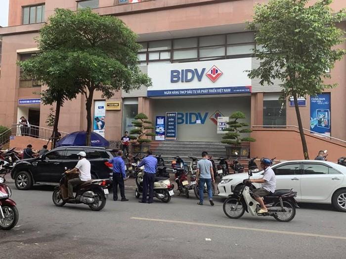 Ngân hàng nơi xảy ra vụ cướp