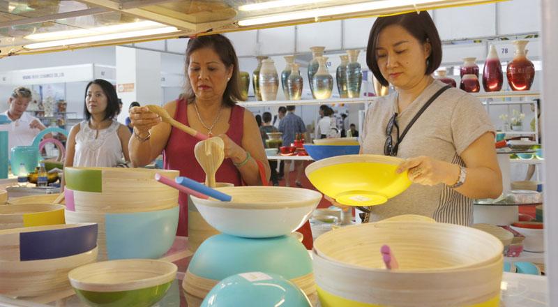 Các sản phẩm thủ công mỹ nghệ mang đậm dấu ấn Việt Nam