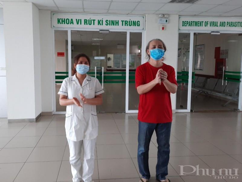 BN357 điều trị tại BV Bệnh nhiệt đới TƯ cơ sở 2 được công bố khỏi bệnh chiều 27/7.