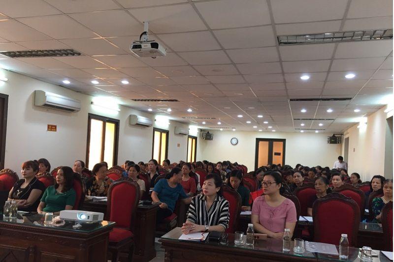 Các đại biểu tham dự khóa đào tạo