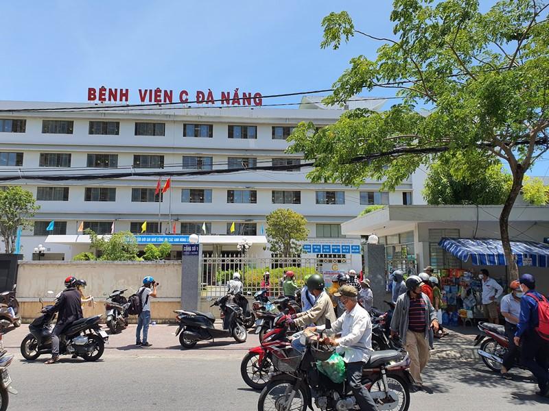 Bệnh viện C Đà Nẵng tiến hành phong tỏa từ 24/7.