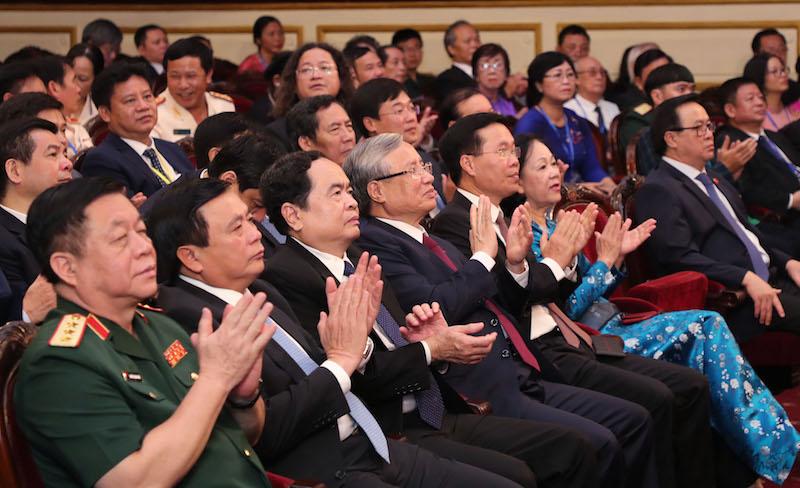 Hội nghị nhận được sự quan tâm sâu sắc của các đồng chí Lãnh đạo Đảng và Nhà nước