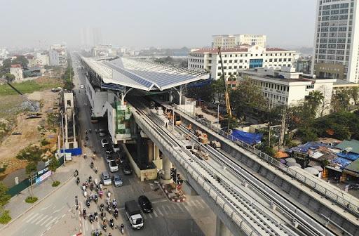 Tuyến đường sắt đô thị Nhổn - ga Hà Nội sẽ kéo dài tới Hoàng Mai.