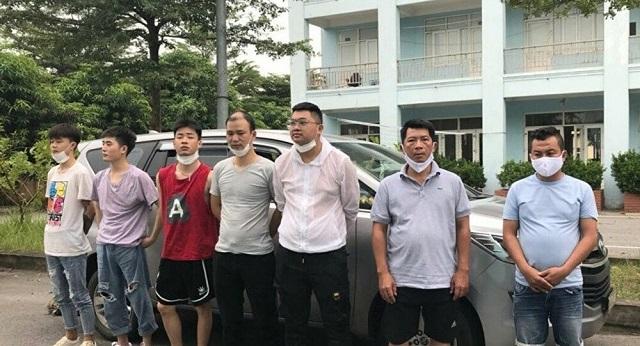 Một nhóm đối tượng nhập cảnh trái phép bị bắt giữ.