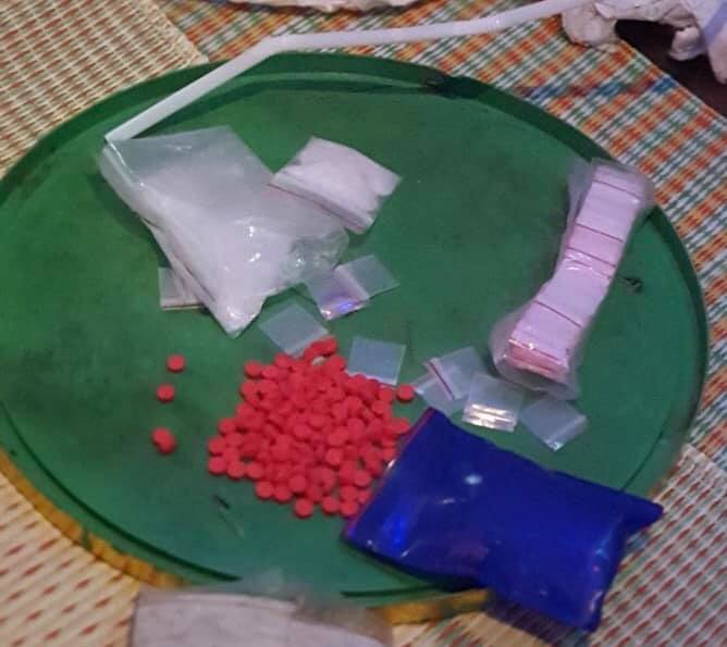 Số ma túy thu giữ được tại nơi ở của Nguyễn Văn Hà