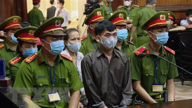 Hình ảnh tại phiên xét xử. Ảnh: Thành Chung/TTXVN.