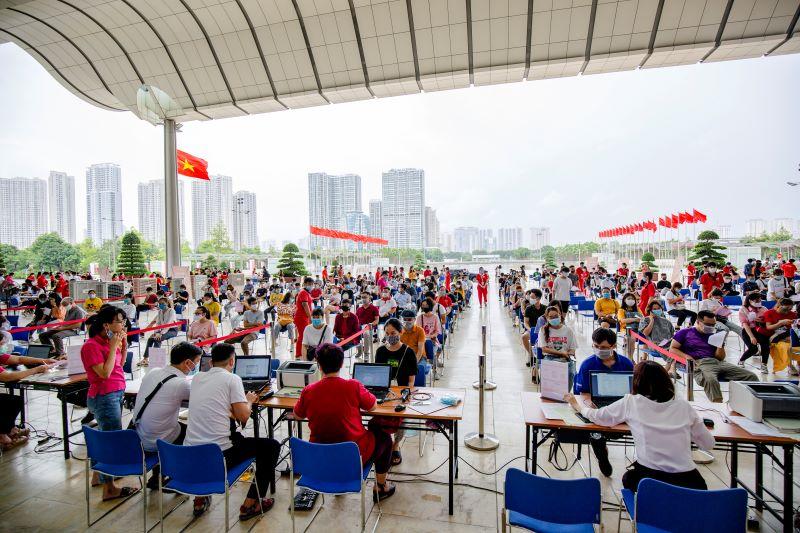 Hà Nội là địa phương thứ 42, cũng là địa phương cuối cùng tham gia tổ chức Hành trình Đỏ lần thứ VIII – năm 2020.