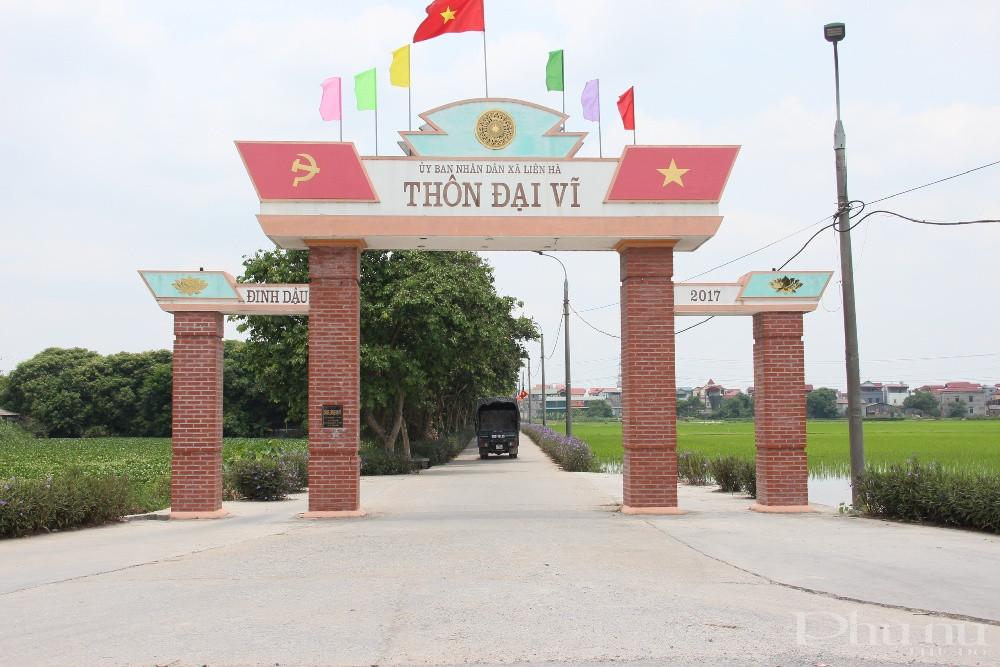 Sự thay da, đổi thịt của nhiều thôn, xóm ở xã Liên Hà (huyện Đông Anh, Hà Nội) là minh chứng cho việc Ý đảng hợp lòng dân.