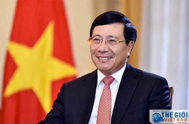 Phó Thủ tướng Chinh phủ, Bộ trưởng Bộ Ngoại giao Phạm Bình Minh.