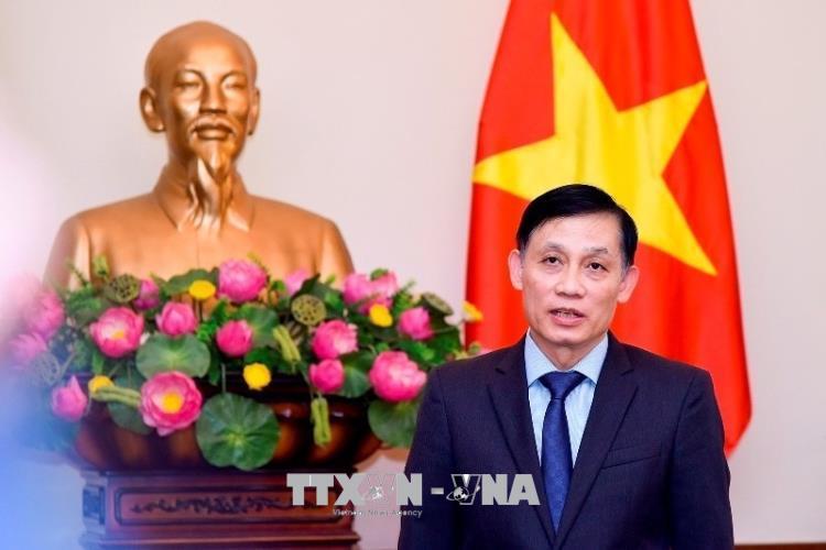 Thứ trưởng Ngoại giao Lê Hoài Trung. Ảnh: TTXVN phát