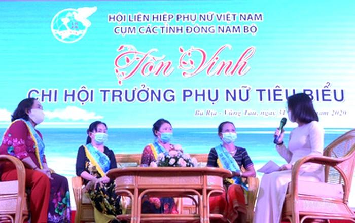 Giao lưu chi hội trưởng phụ nữ TP Hồ Chí Minh tại Bà Rịa- Vũng Tàu