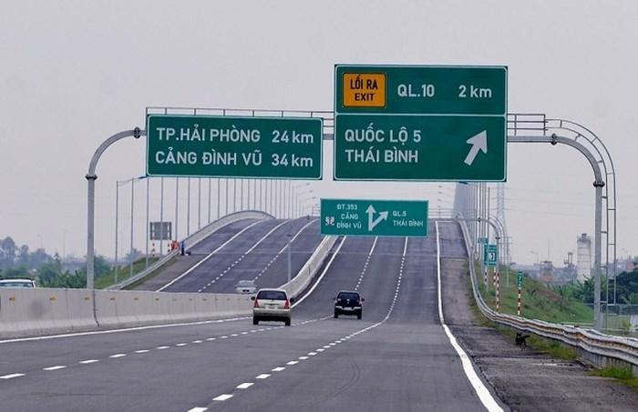 Cao tốc Hà Nội-Hải Phòng chính thức thu phí không dừng từ ngày 11/8. Ảnh: VGP.