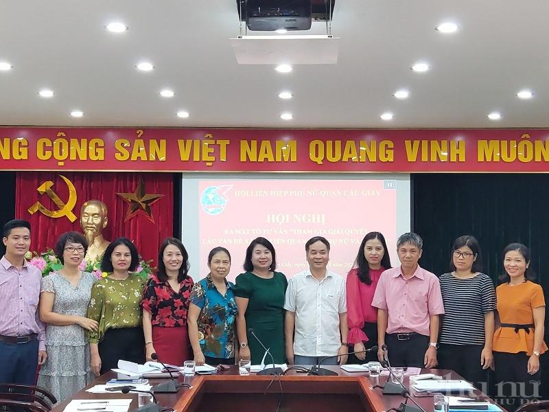 11 thành viên Tổ tư vấn ra mắt tại hội nghị