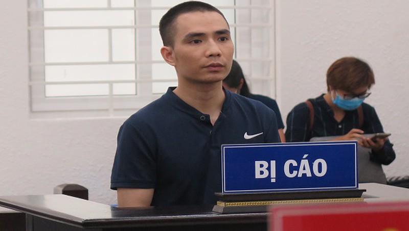 Bị cáo Dũng tại tòa