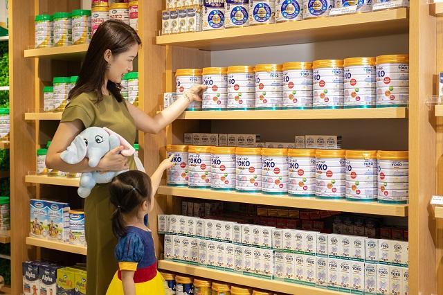 Vinamilk hiện đang dẫn đầu thị trường trong nước về cả sữa nước và sữa bột trẻ em.
