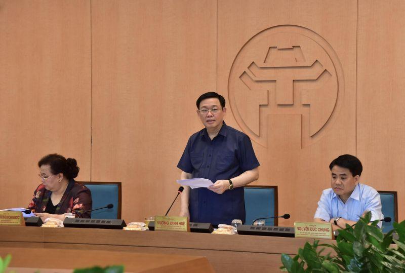 Bí thư Thành ủy chỉ đạo tại cuộc họp