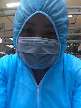 Thời gian chị Hương ở gần chồng không nhiều, vì thường xuyên phải đi chống dịch (ảnh nhân vật cung cấp)