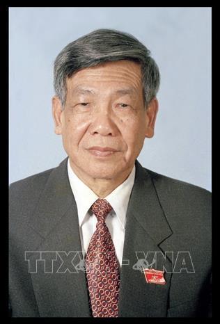 Nguyên Tổng Bí thư Lê Khả Phiêu. Ảnh: TTXVN