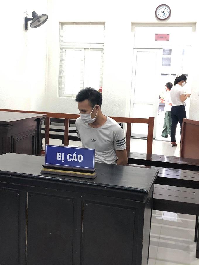 Bị cáo Nguyệt tại tòa