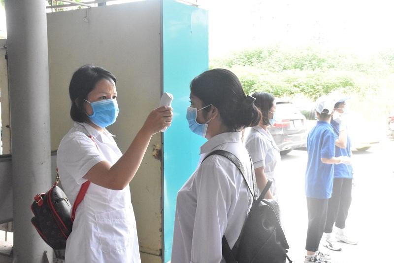 Nhiều biện pháp phòng chống dịch được triển khai trong kỳ thi tốt nghiệp THPT năm 2020