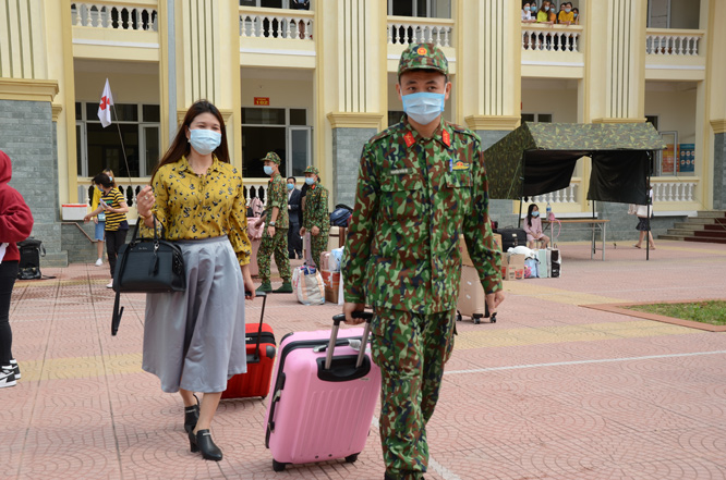 Bộ Tư lệnh Thủ đô Hà Nội sẵn sàng đón người cách ly tập trung Covid-19.