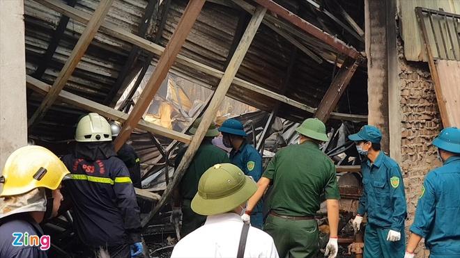 Hiện trường vụ cháy khiến 8 người tử vong