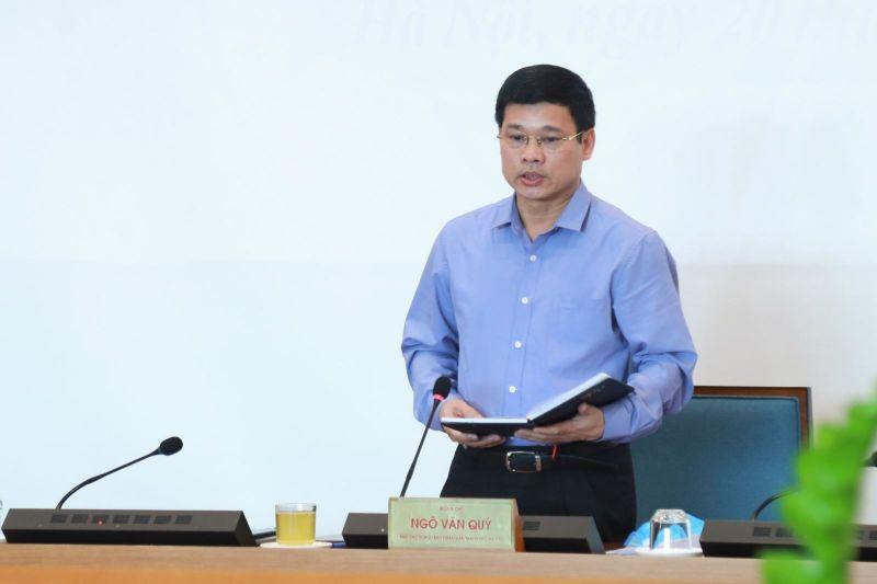 Ông Ngô Văn Quý, Phó Chủ tịch UBND TP Hà Nội sẽ tạm thời điều hành BCĐ chống dịch COVID-19, thay ông Nguyễn Đức Chung.