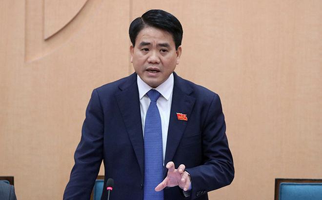 Ông Nguyễn Đức Chung - Chủ tịch Ủy ban nhân dân TP Hà Nội đã bị tạm đình chỉ chức vụ để phục vụ điều tra.