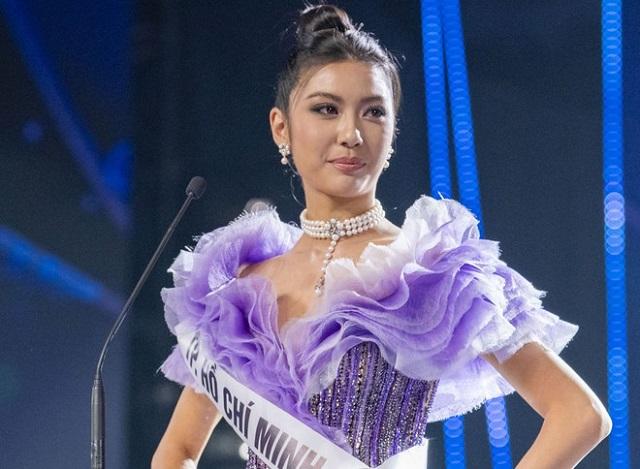 Á hậu 2 Hoa hậu Hoàn Vũ 2019 Thúy Vân.