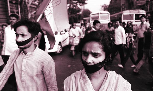 Biểu tình chống hiếp dâm ở Ấn Độ - Ảnh NYT