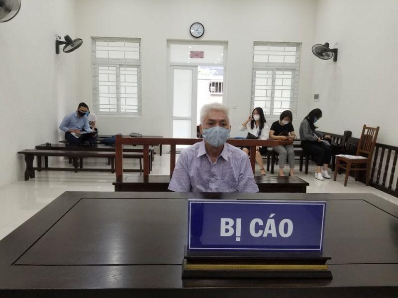 Bị cáo Vũ Văn Nghĩa tại tòa