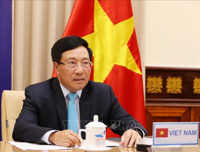 Phó Thủ tướng, Bộ trưởng Bộ Ngoại giao Phạm Bình Minh dự phiên Thảo luận mở trực tuyến của Hội đồng Bảo an Liên hợp quốc với chủ đề