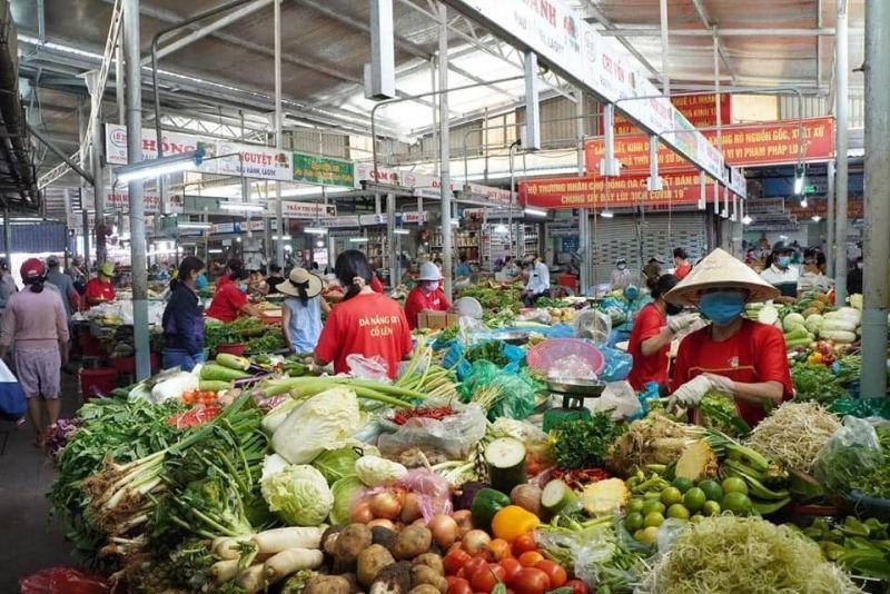 Một góc chợ Đà Nẵng