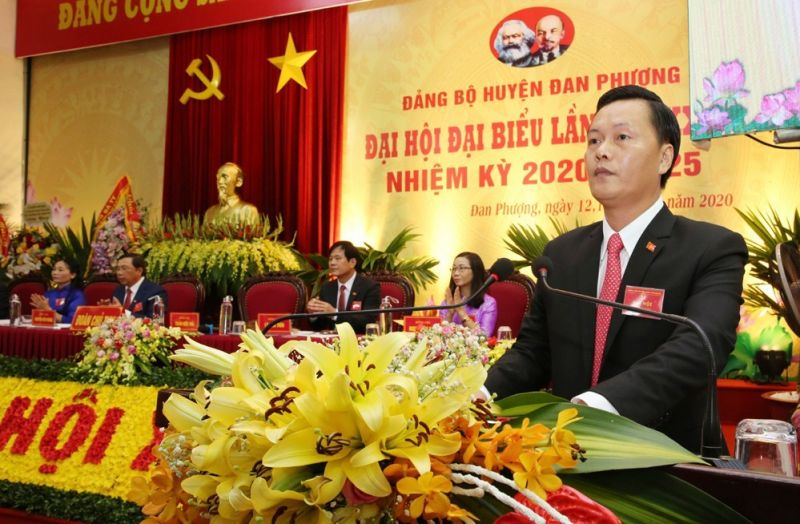 Đồng chí Lê Ngọc Anh được bầu giữ chức Bí thư Huyện ủy Phú Xuyên nhiệm kỳ 2020 - 2025
