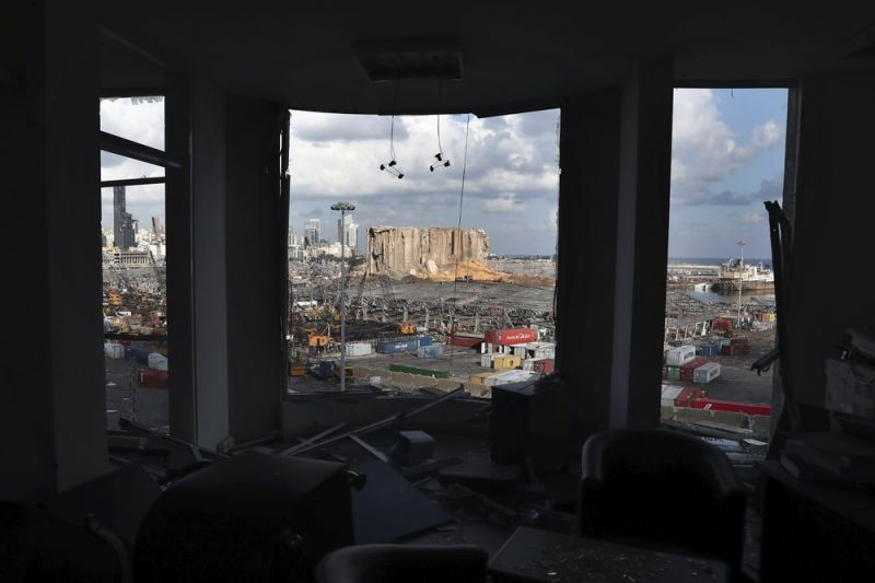 Khung cảnh đổ nát hoang tàn tại Beirut là nỗi ám ảnh với nhiều trẻ nhỏ nơi đây