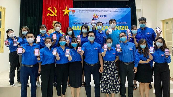 """Cuộc thi tìm hiểu về năm chủ tịch ASEAN 2020 trong Tuổi trẻ Thủ đô với chủ đề: """"HANOI - ASEAN 2020: United we stand - Đoàn kết là sức mạnh""""."""