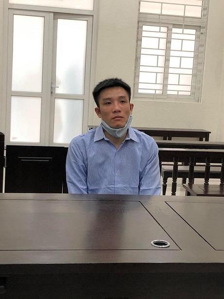 Bị cáo Tiểng tại Tòa