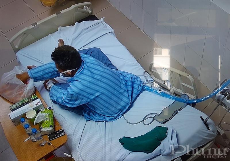 Bệnh nhân 867 ở Hải Dương đang được điều trị tại Khoa Hồi sức tích cực, BV Bệnh Nhiệt đới TƯ
