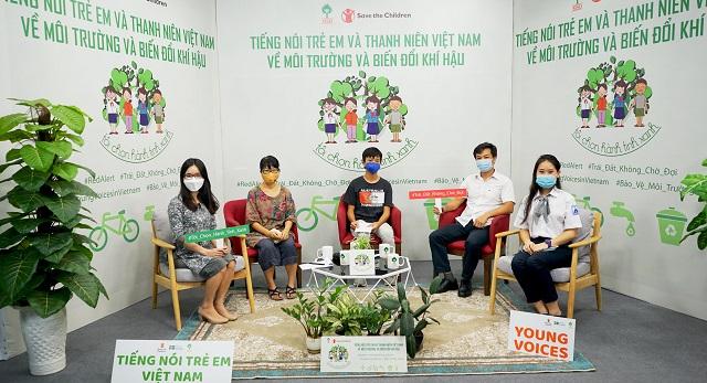 Các khách mời chia sẻ cách để xây dựng một môi trường sống xanh, sạch, đẹp