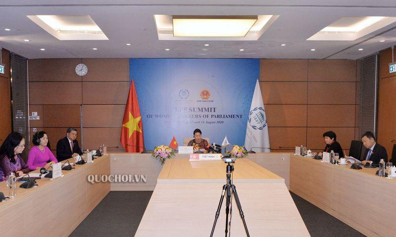 Đoàn đại biểu Quốc hội Việt Nam tham dự Hội nghị thượng đỉnh các nữ chủ tịch Quốc hội thế giới lần thứ 13
