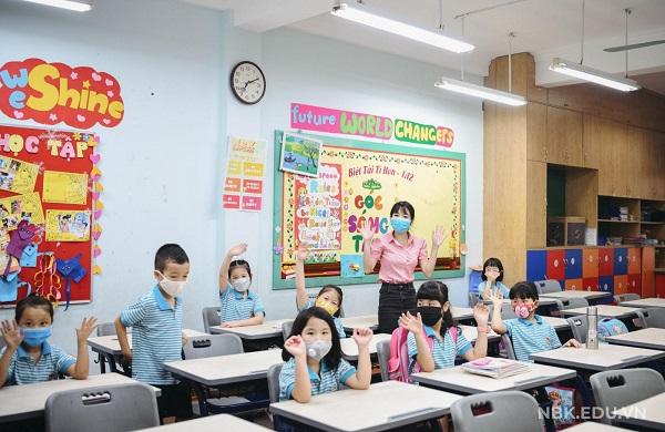 Trường Nguyễn Bỉnh Khiêm đã lùi thời gian tựu trường để đảm bảo an toàn cho học sinh trước dịch Covid-19