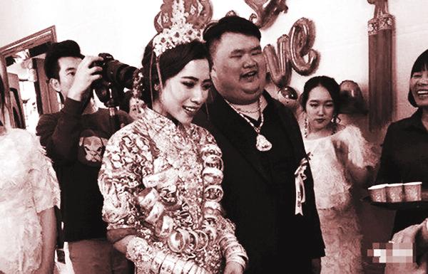 Đám cưới ngập vàng ở Trung Quốcảnh BI