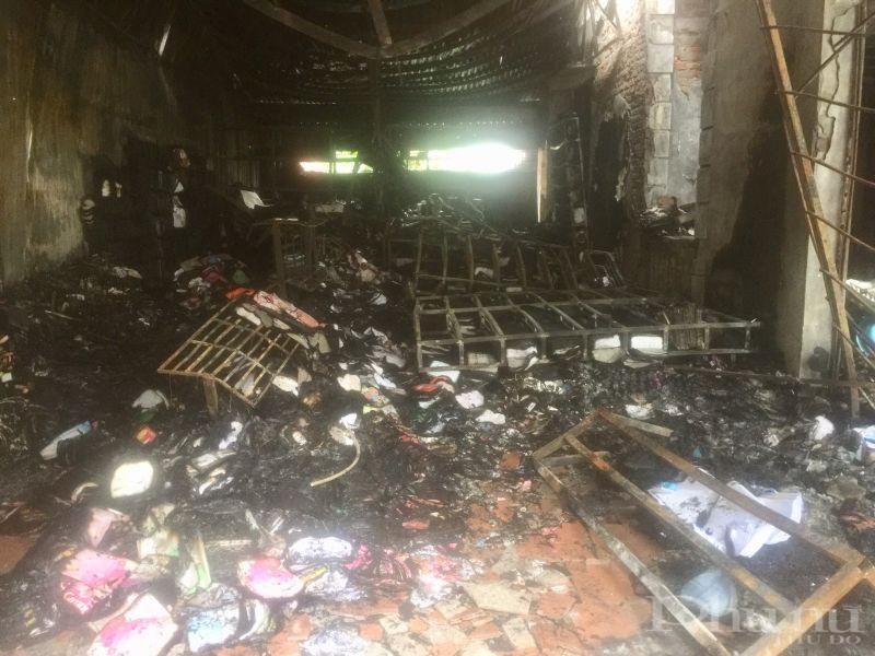 Vụ hỏa hoạn của gia đình thiệt hại ước tính khoảng hơn 2 tỷ đồng