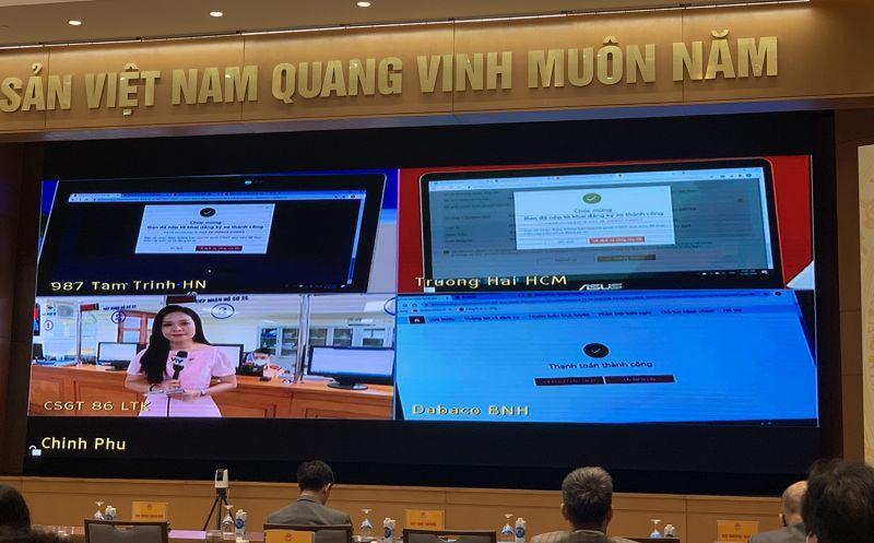 Trải nghiệm thành công dịch vụ công tại đầu cầu Hà Nội, TPHCM, Bắc Ninh