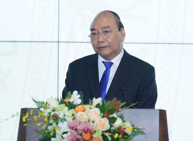 hủ tướng Nguyễn Xuân Phúc phát biểu tại lễ khai trương - Ảnh: VGP/Quang Hiếu