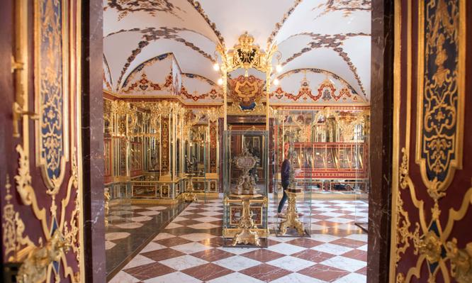 Bảo tàng Green Vault (Đức) từng bị đánh cắp số cổ vật trị giá 1 tỷ euro.