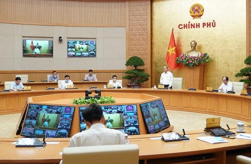 Thủ tướng Nguyễn Xuân Phúc chủ trì Hội nghị giao ban trực tuyến với các bộ, ngành, địa phương trên toàn quốc đôn đốc giải ngân vốn đầu tư công năm 2020