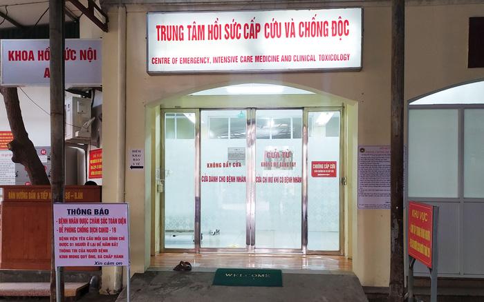 Chị Hương đang được điều trị tại khoa Hồi sức cấp cứu, Viện bỏng Quốc gia