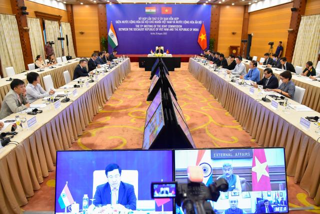 Các đại biểu dự Kỳ họp lần thứ 17 Ủy ban Hỗn hợp Việt Nam - Ấn Độ